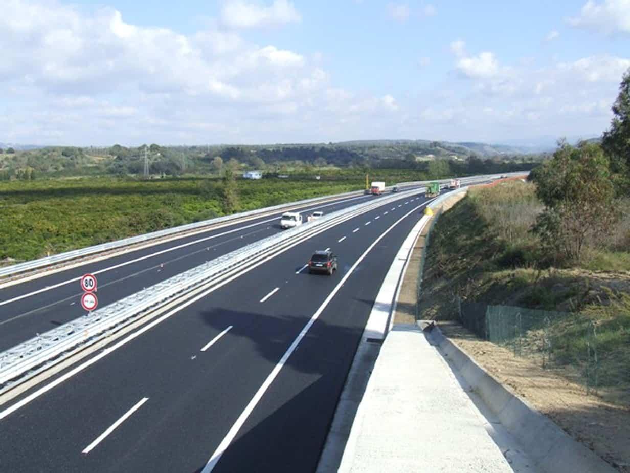 Ad oggi sono stati ultimati e aperti al traffico 341 km; i restanti 14 km saranno completati entro Dicembre