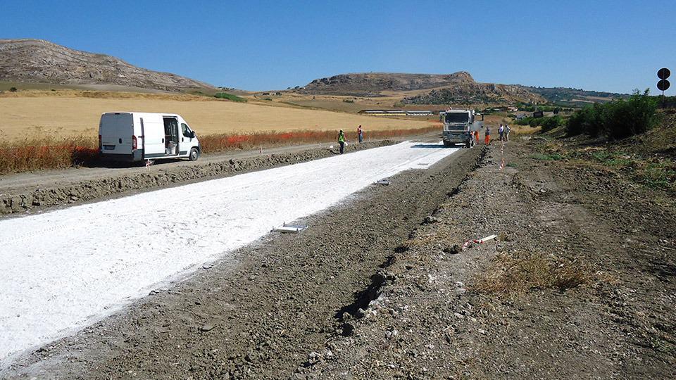 Il miglioramento dei terreni nei rilevati stradali e ferroviari