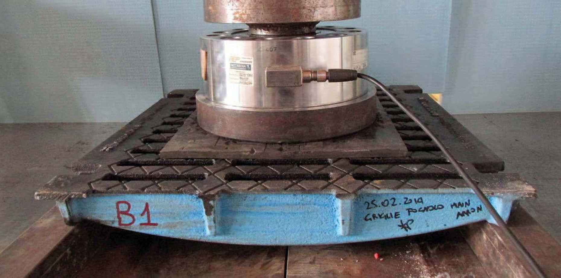 La prova della griglia F900 presso l'Istituto Giordano