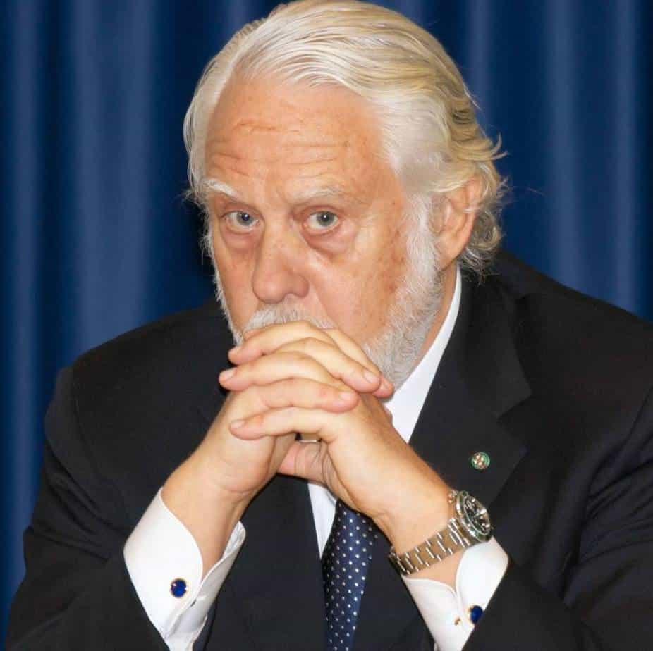 L'Ing. Vincenzo Pozzi, Commissario Straordinario Governativo per la realizzazione del Corridoio Tirrenico Meridionale