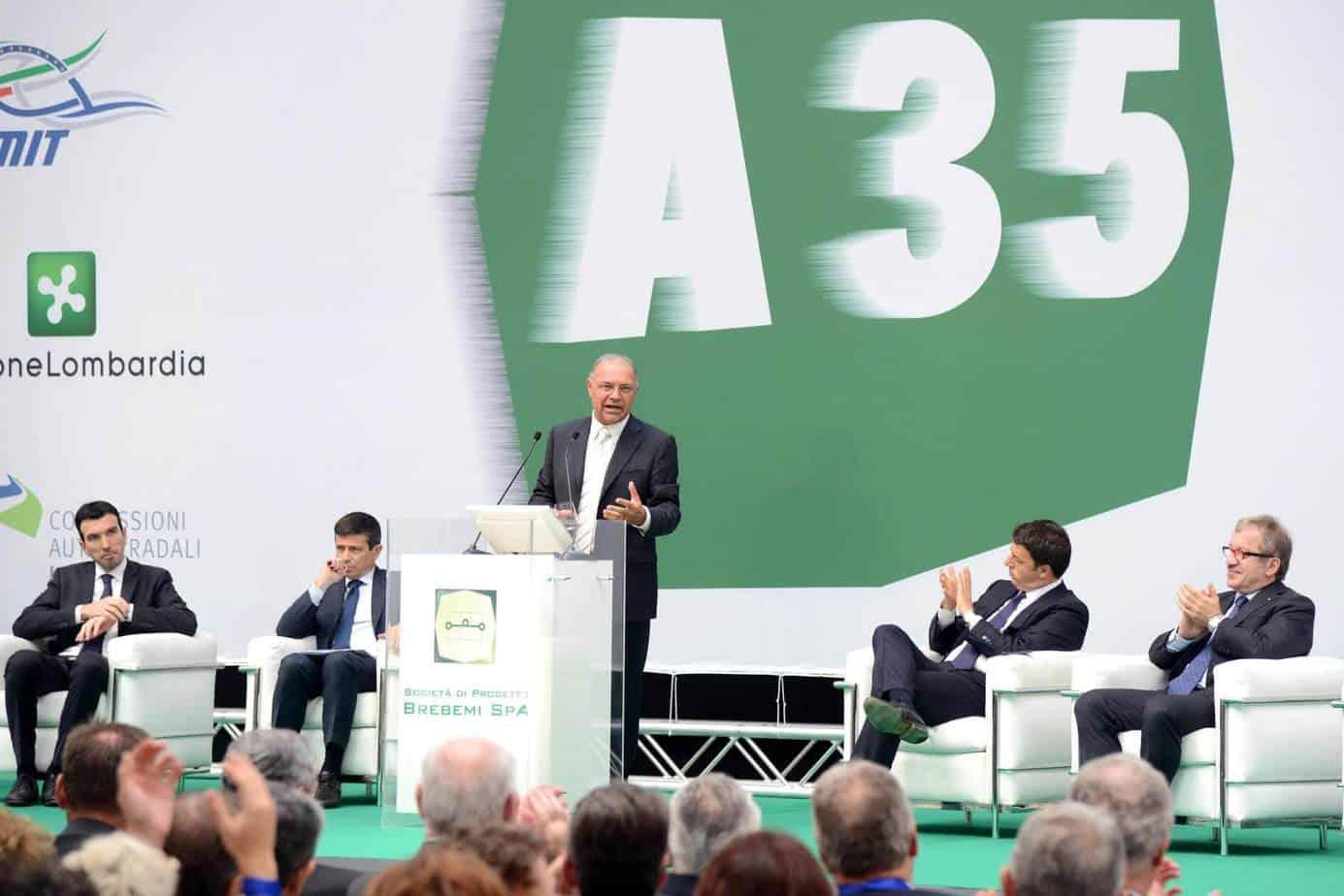 Francesco Bettoni, Presidente di BreBeMi e Autostrade Lombarde