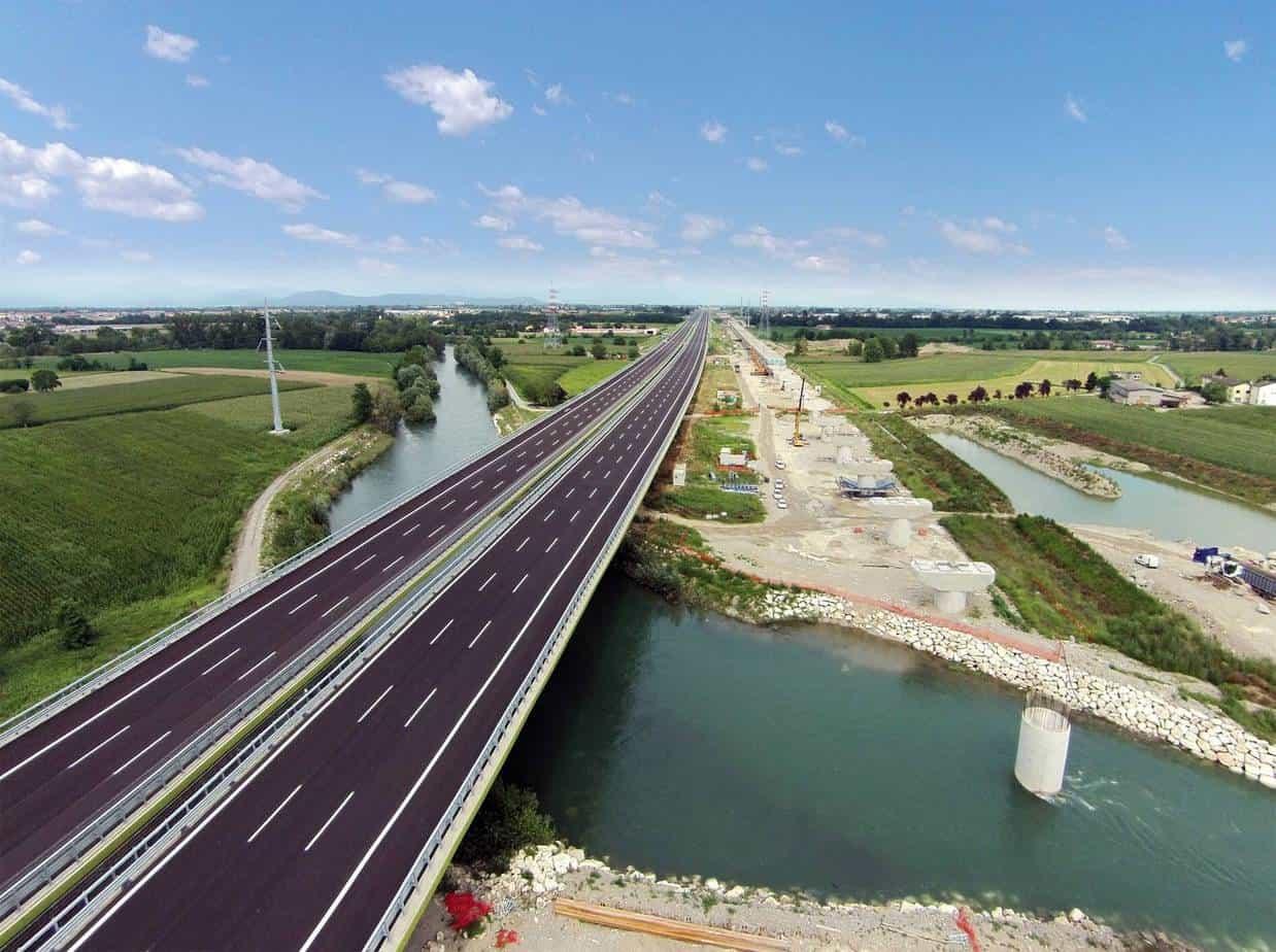 Il viadotto Oglio