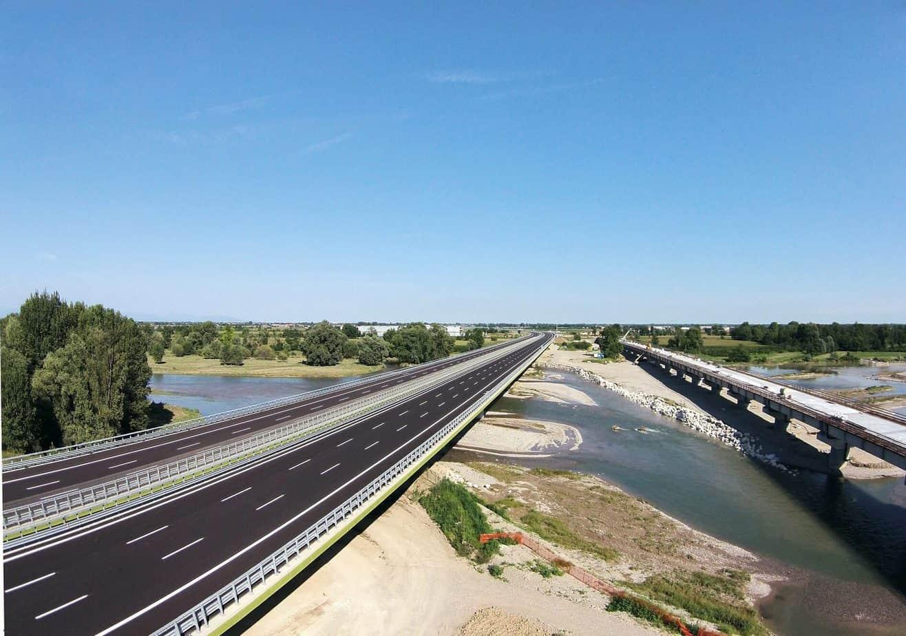 Il viadotto Serio
