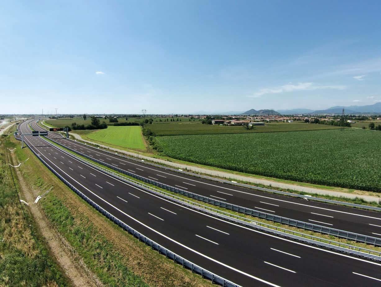 Il tratto Brescia-barriera di Chiari