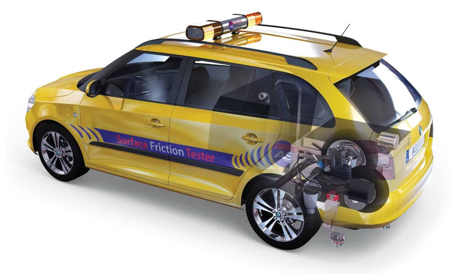 "Un'auto ""friction tester"""