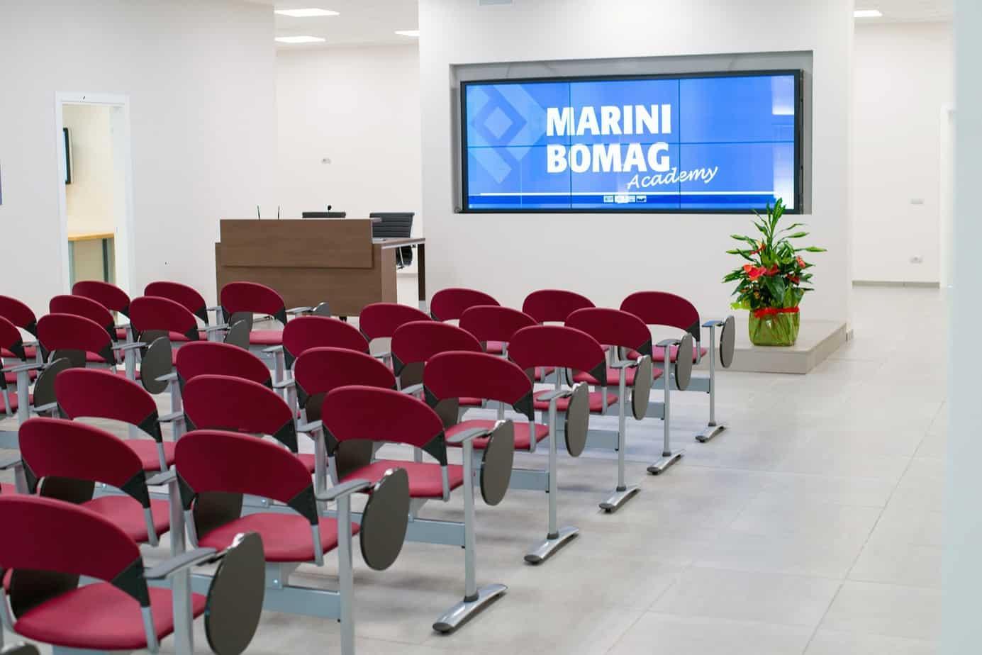 "Il nuovo Centro training ""Marini/Bomag Academy"""
