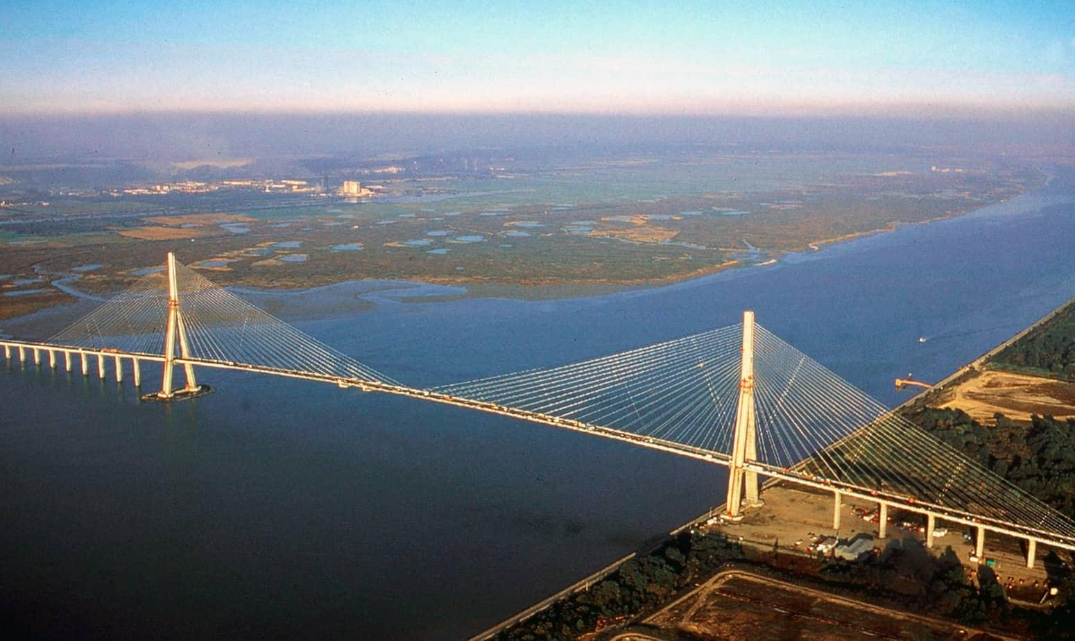 Il ponte di Normandia sulla Senna