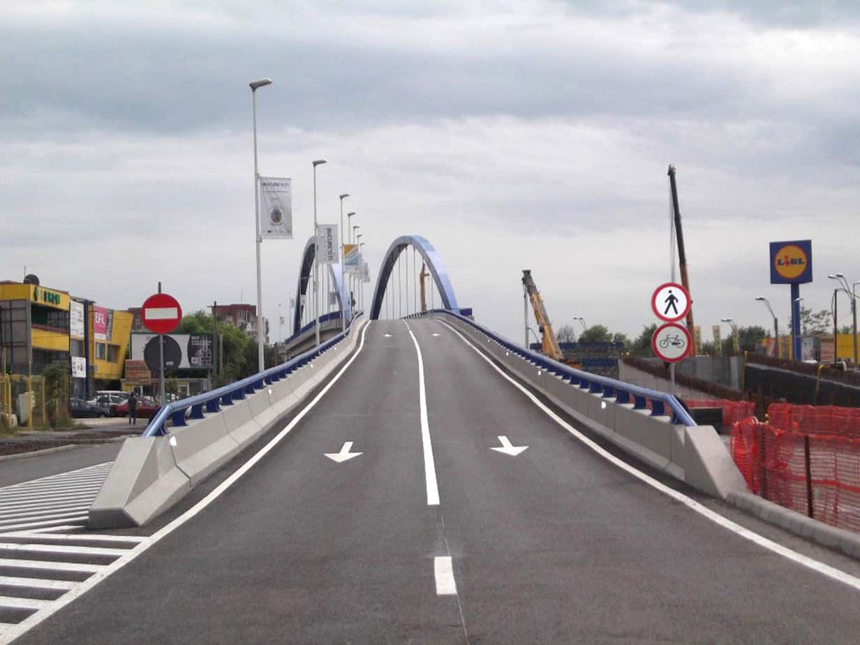 Il ponte a Bucarest