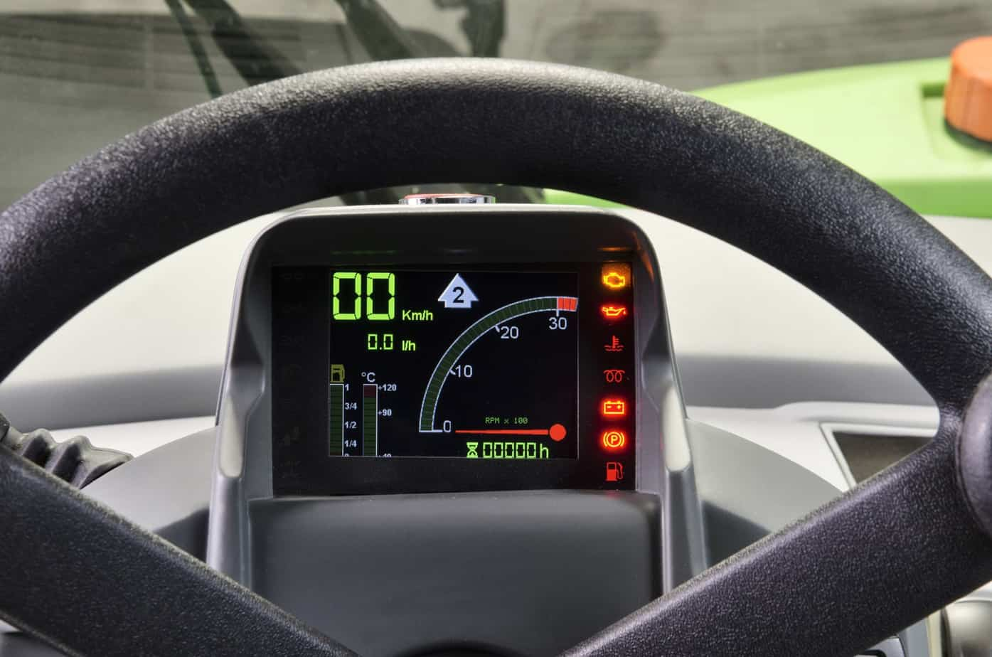 Il nuovo display digitale ha una impostazione automobilistica