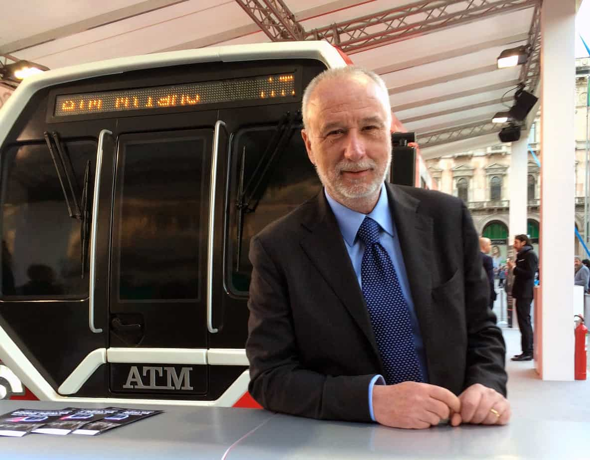 L'Ing. Maurizio Manfellotto, Presidente di ANIE ASSIFER - Associazione Nazionale dell'Industria Ferroviaria