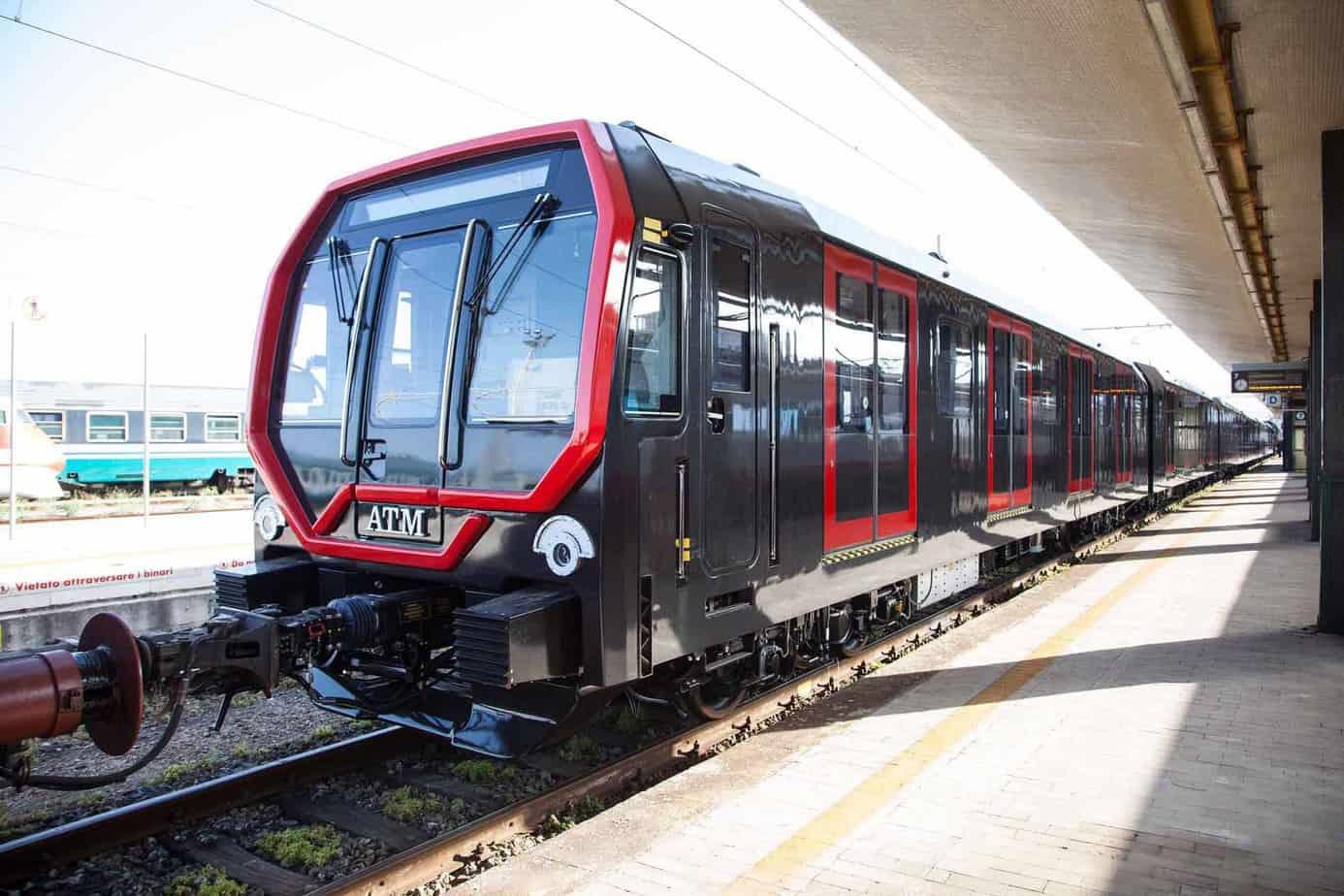 Un'immagine della futura metro Leonardo di Milano