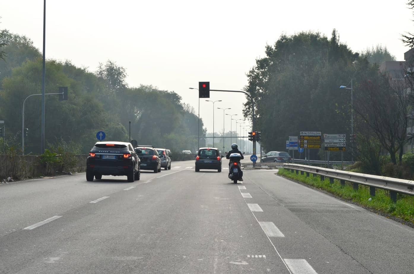 Il secondo semaforo di San Donato, all'incrocio con Via Gela, verrà sostituito da un cavalcavia