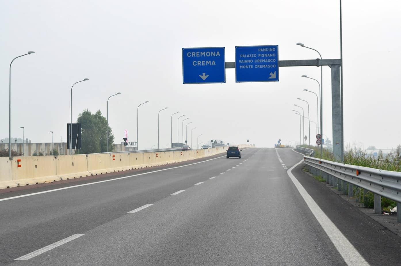 A Dovera inizia un nuovo tratto di Paullese a quattro corsie, aperto al traffico nel 2012