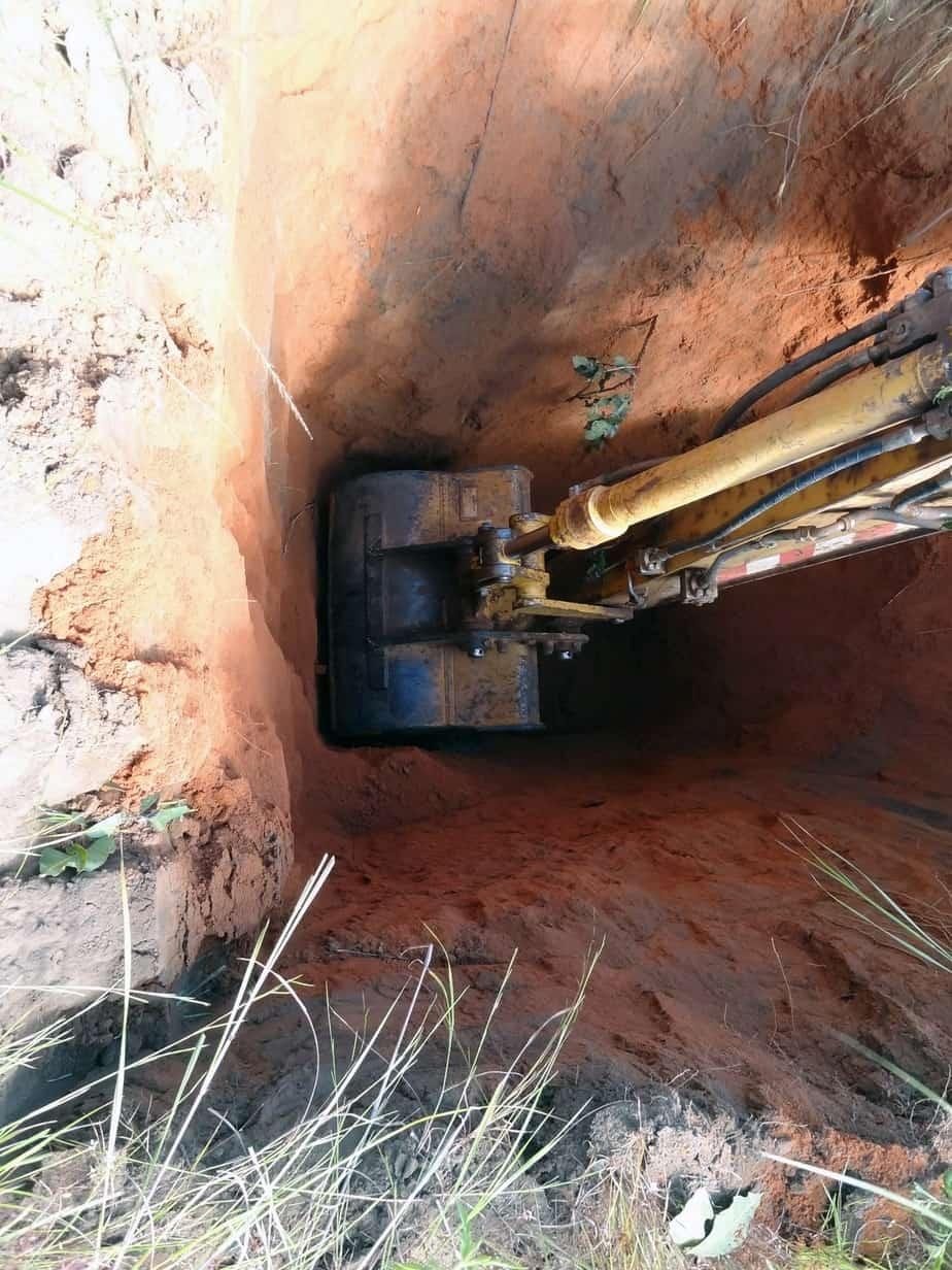 Il campionamento con escavatore: indagini geotecniche e prove di laboratorio su materiali sciolti