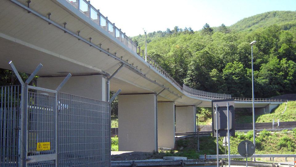 Viadotto Carrodano: risanamento e adeguamento sismico