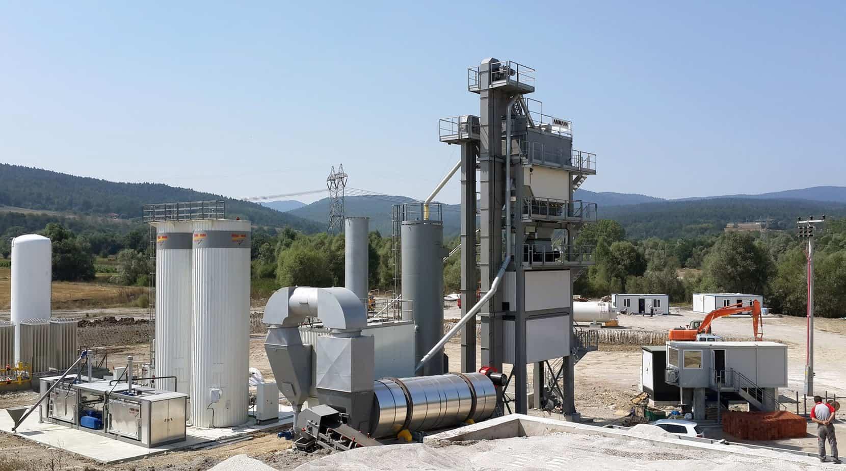 L'impianto UB 260 installato in Turchia