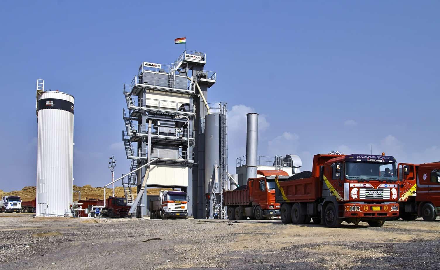 L'impianto UB 260 installato in Iraq