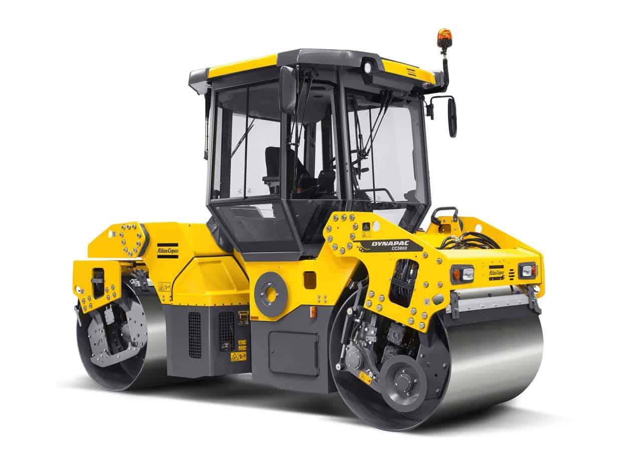 Il nuovo rullo tandem Atlas Copco CC 3800