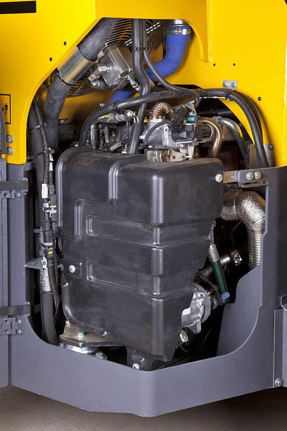 Il potente motore Cummis QSB 3.3