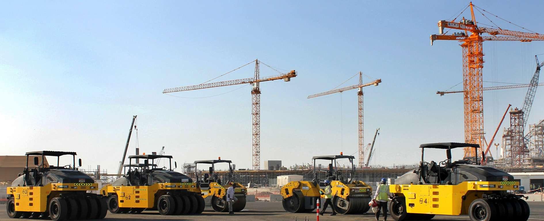 Il Midfield Airport Terminal Complex di Abu Dhabi