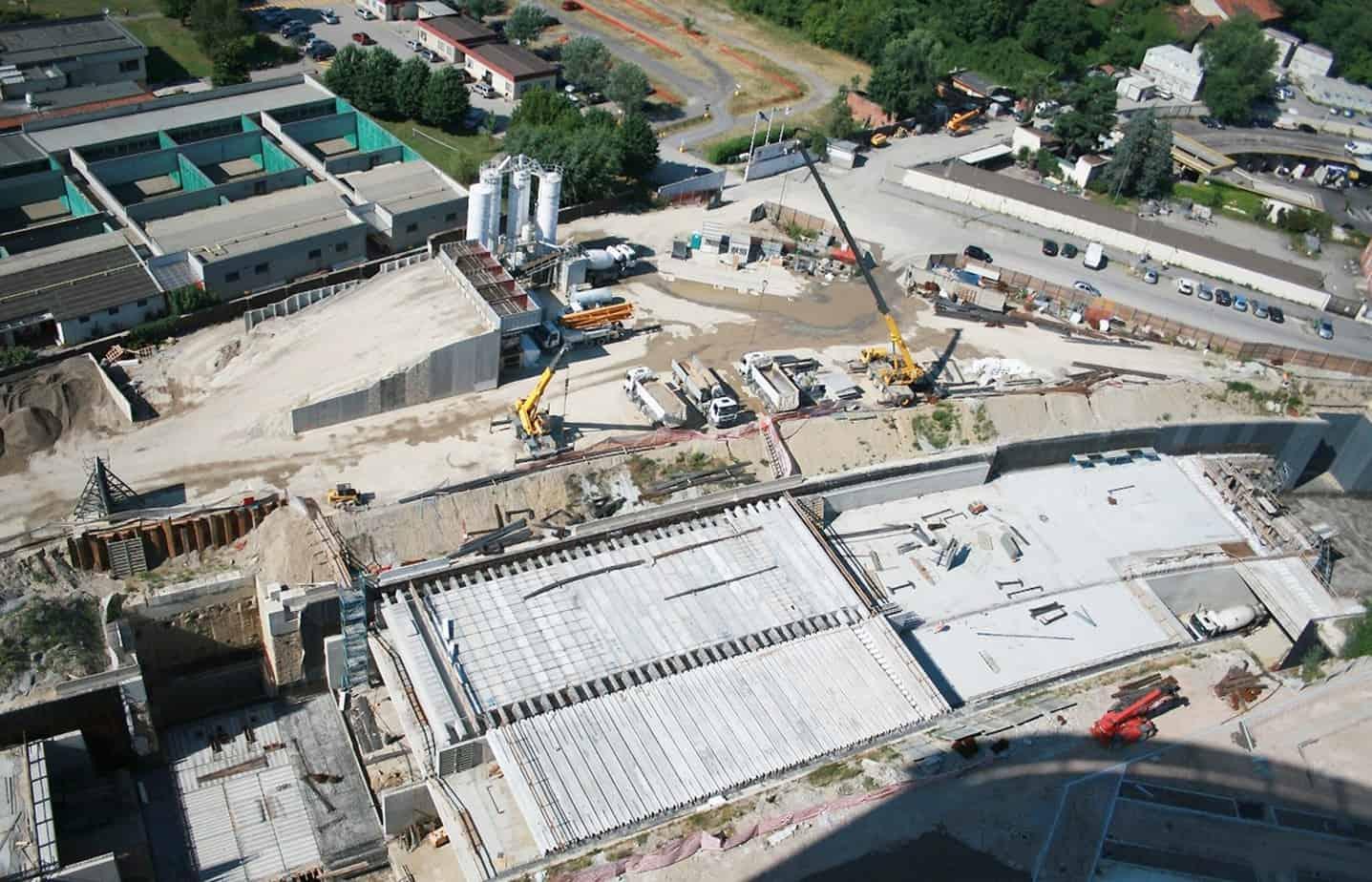 Una vista dall'edificio WJC