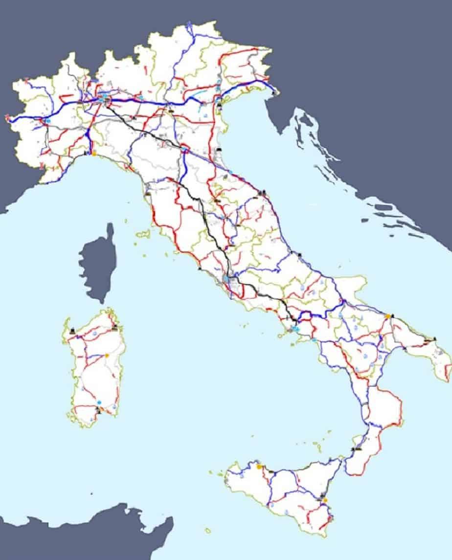L'inquadramento nazionale delle infrastrutture prioritarie realizzabili e delle piattaforme logistiche integrate