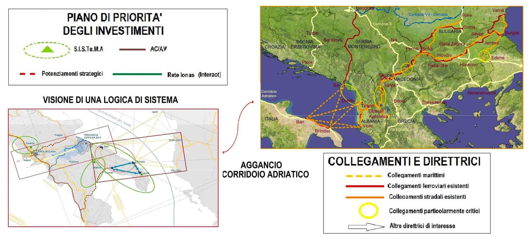 Il focus della piattaforma logistica Sud-orientale