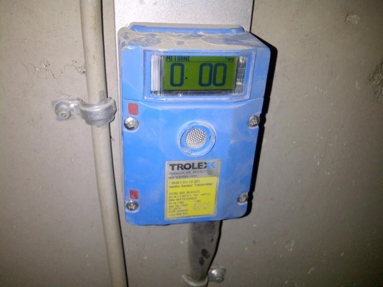 Il sensore per metano (Sentro1)