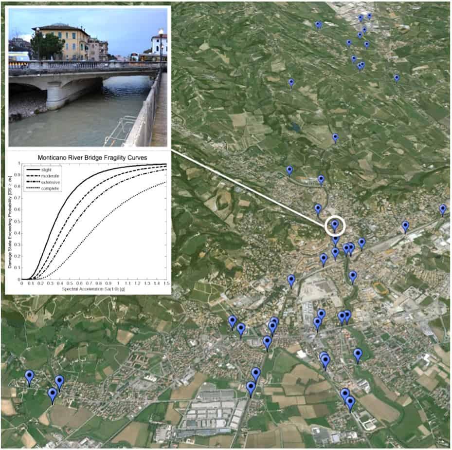 L'identificazione dei 51 ponti e manufatti minori appartenenti alla rete stradale urbana del comune di Conegliano