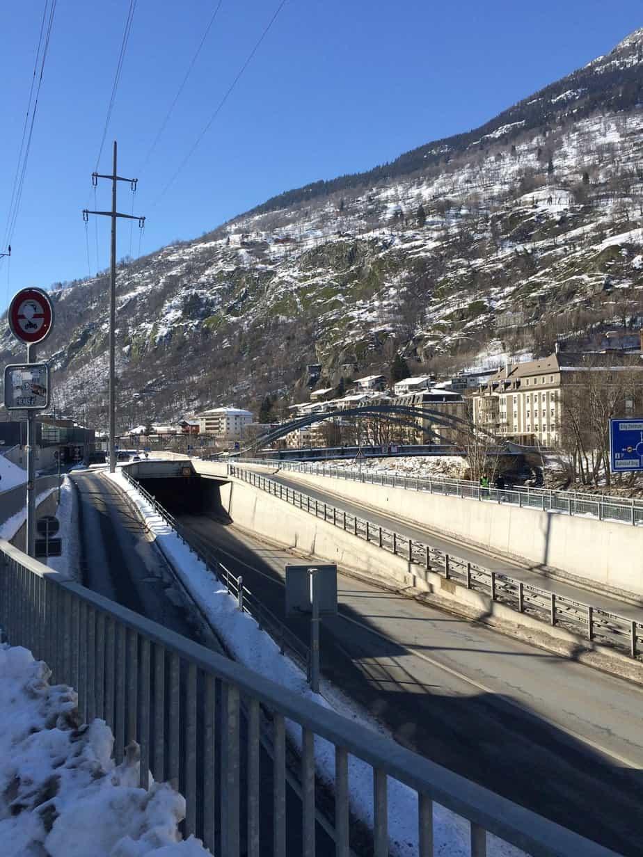 Opere stradali e fluviali a Briga (Svizzera)
