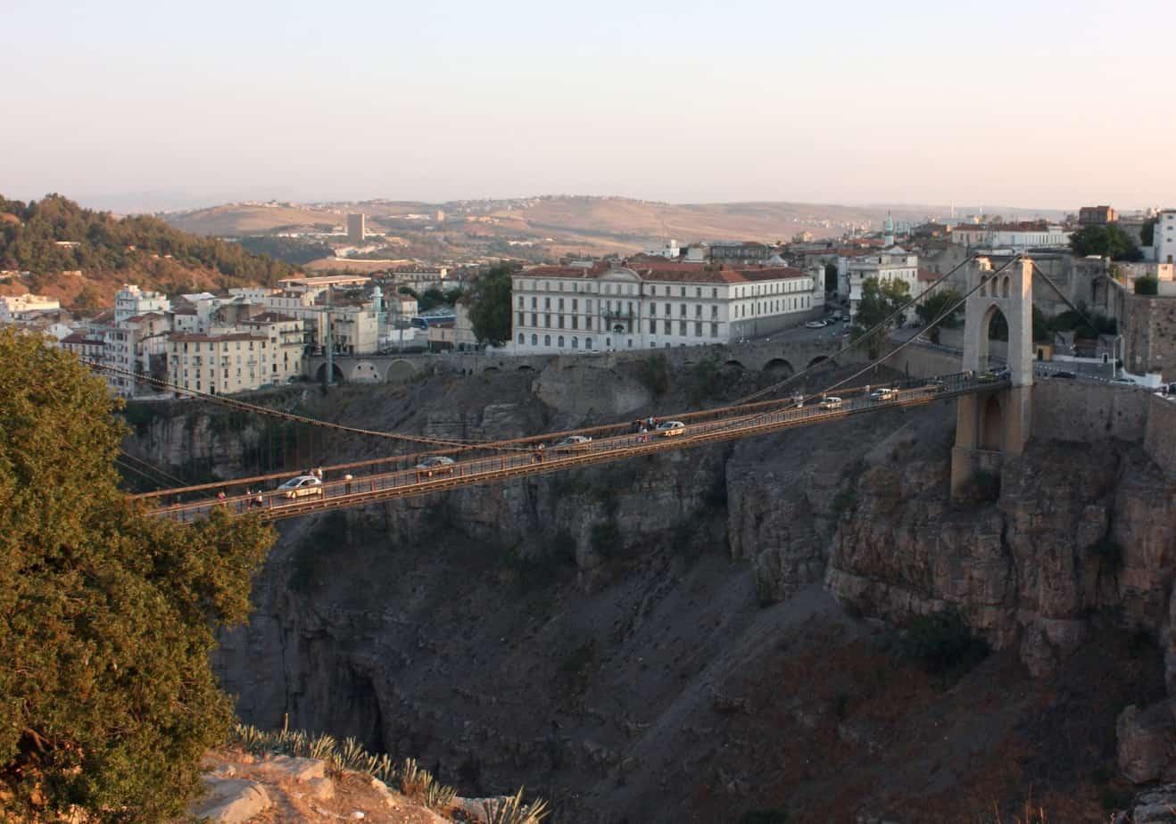 Il ponte di Sidi M'Cid a Costantine, in Algeria