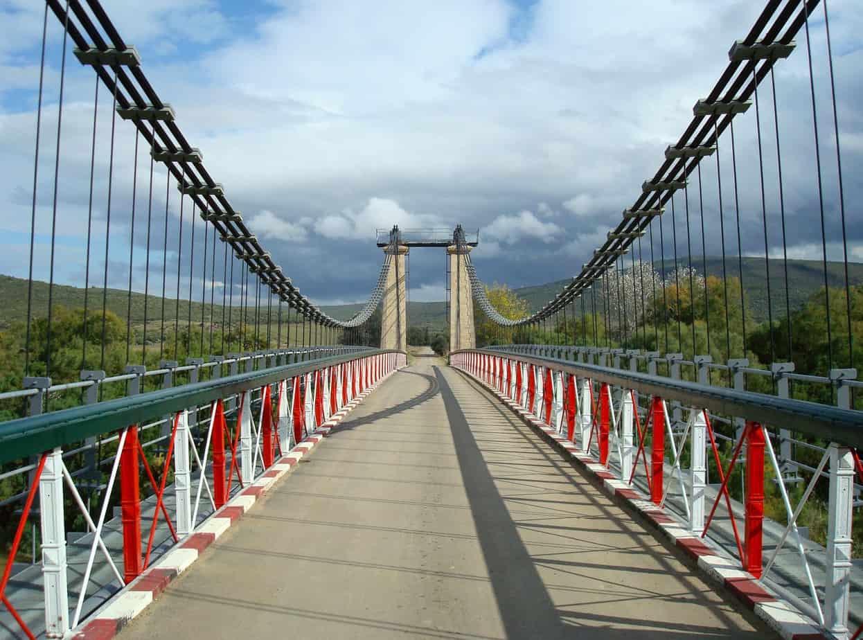Il ponte di Chiani presso Tarf, in Algeria