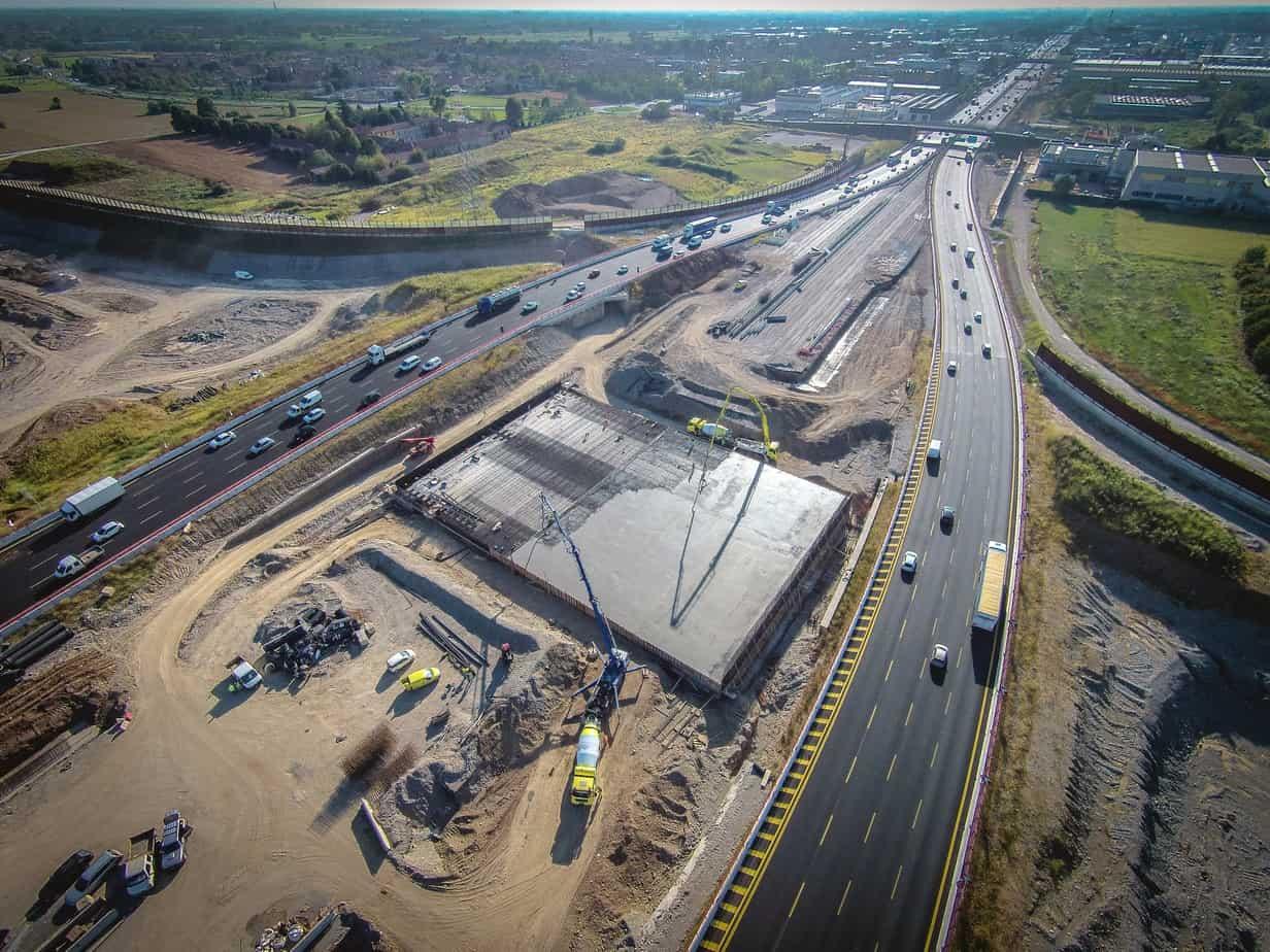 La costruzione della A58-Tangenziale Est Esterna di Milano ha imboccato la dirittura finale
