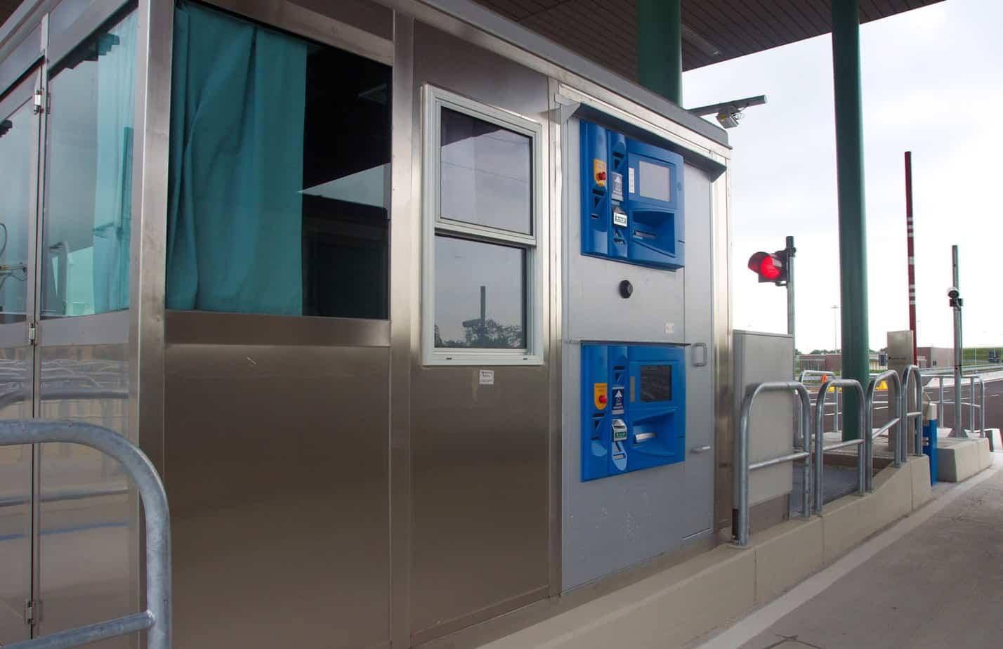 Il casello di Pozzuolo Martesana già dotato di impianti tecnologicamente all'avanguardia