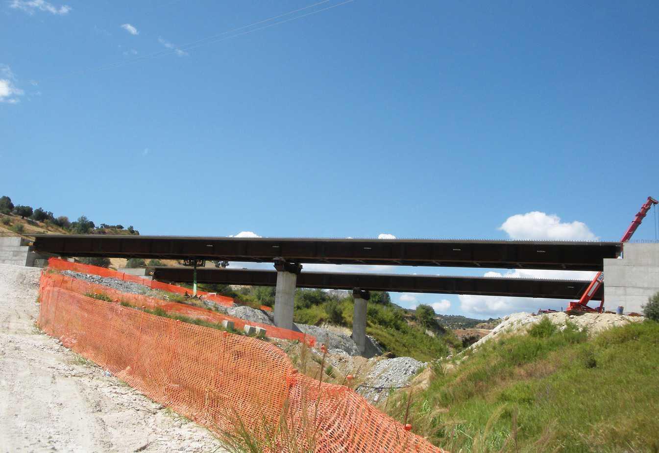 Il viadotto Mangiafico (Lotto G) Foto di Paolo Spanu