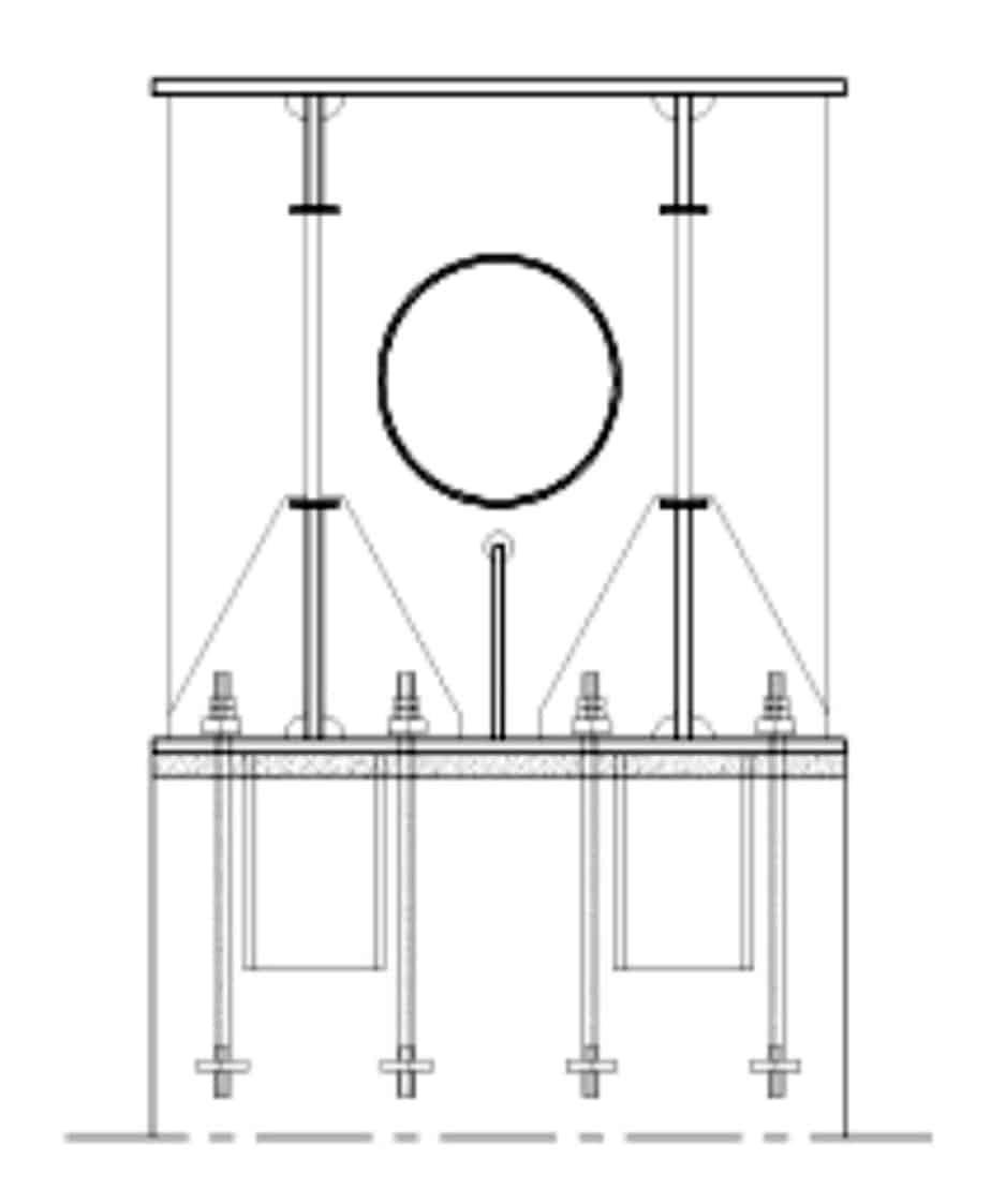 La sezione trasversale del pulvino