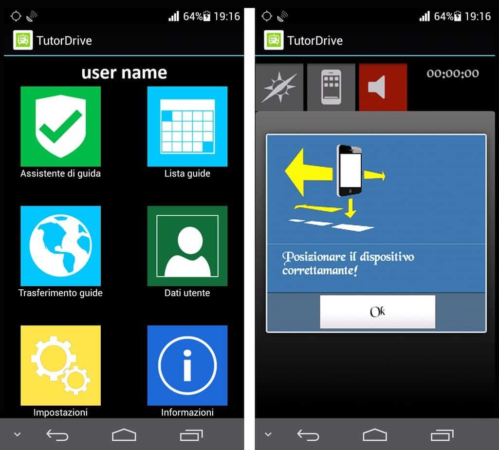 La app TutorDrive