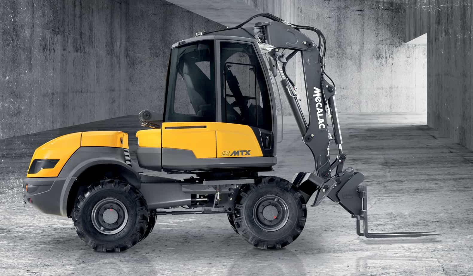 La 12MTX offre la garanzia di una redditività ottimale grazie a delle prestazioni inedite e a una semplicità d'uso