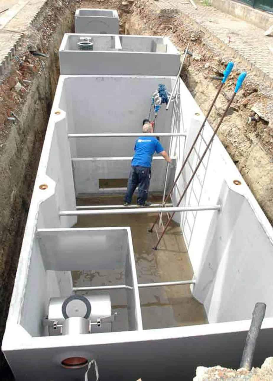 Impianti di prima pioggia conformi alla Norma UNI-EN 858:1