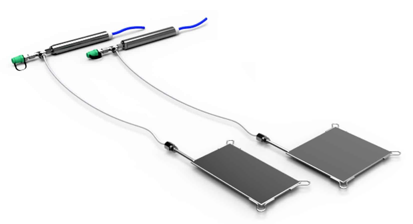 Le celle di pressione con trasduttore e valvola di ripressurizzazione