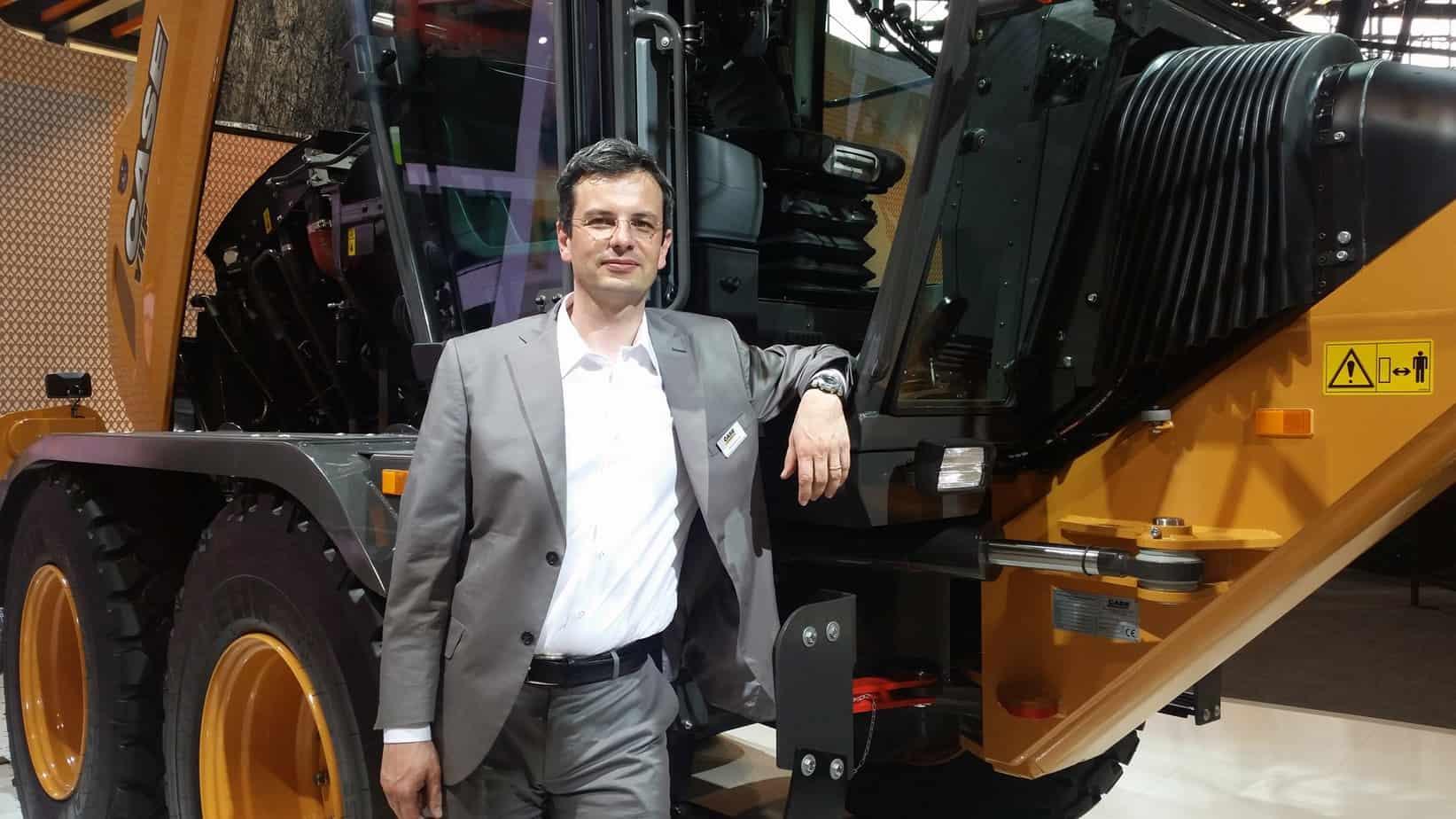 Massimiliano Sala, Responsabile di prodotto per Europa, Africa e Medio Oriente di Case