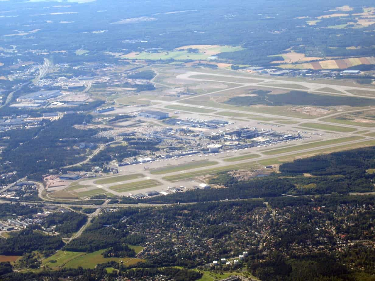 L'aeroporto di Helsinki fa parte del Corridoio Scandinavia-Mediterraneo