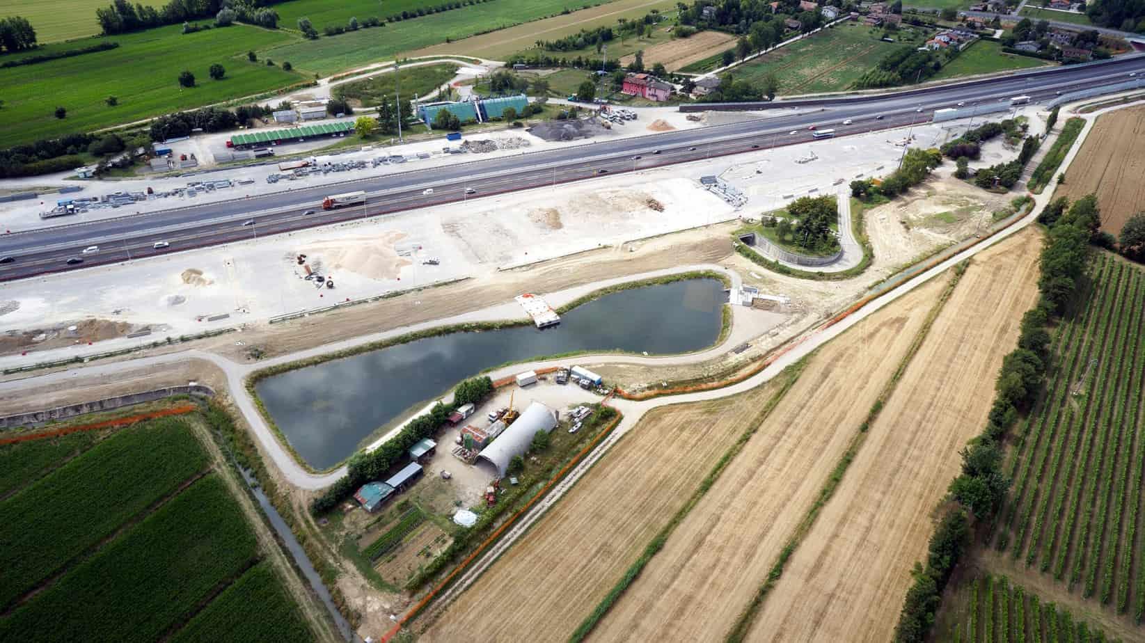Una panoramica dei cantieri