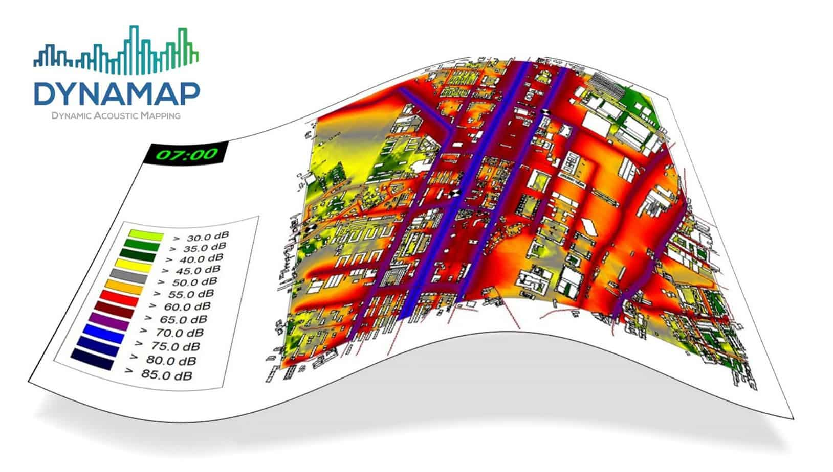 Dynamap è un progetto LIFE+ che si propone di sviluppare un sistema di mappatura acustica dinamica in grado di rilevare e rappresentare in tempo reale l'impatto acustico generato dalle infrastrutture stradali