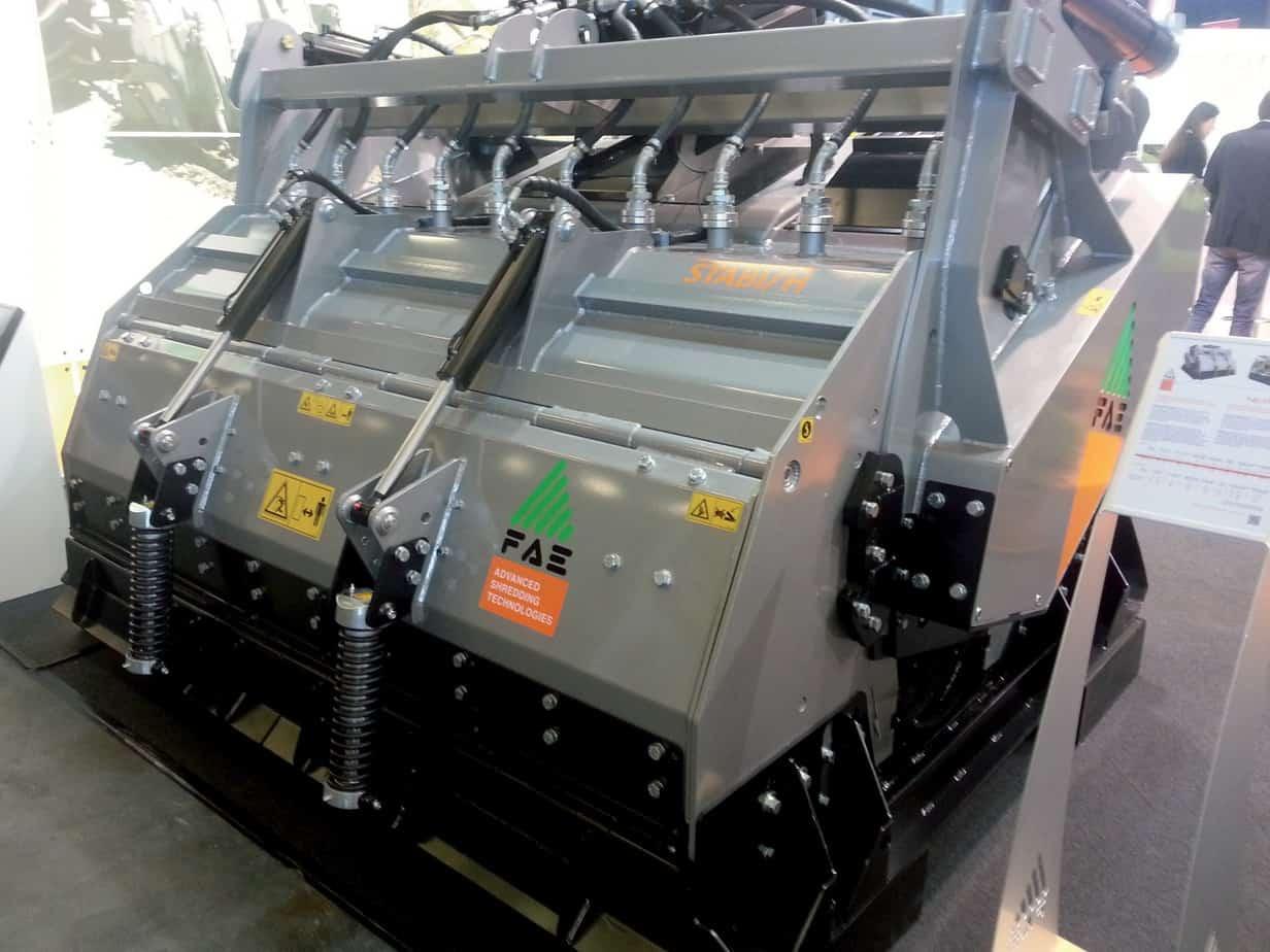 La nuova Stabi/H di FAE Group per trattori da 300 a 450 CV presentata per la prima volta a INTERMAT 2015