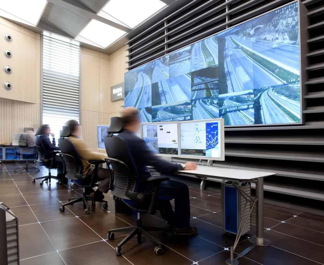 Un esempio di sala di controllo