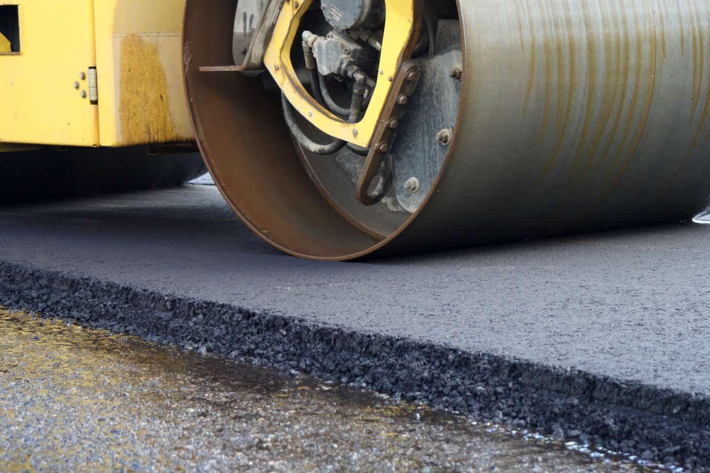 Un recente esempio di pavimentazione contenente il 75% di RAP, con l'uso dell'additivo Sylvaroad RP1000