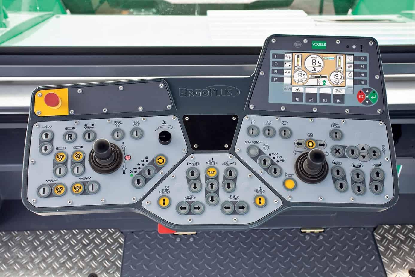 Basta premere un solo pulsante per far compiere alla macchina una piroetta sul posto