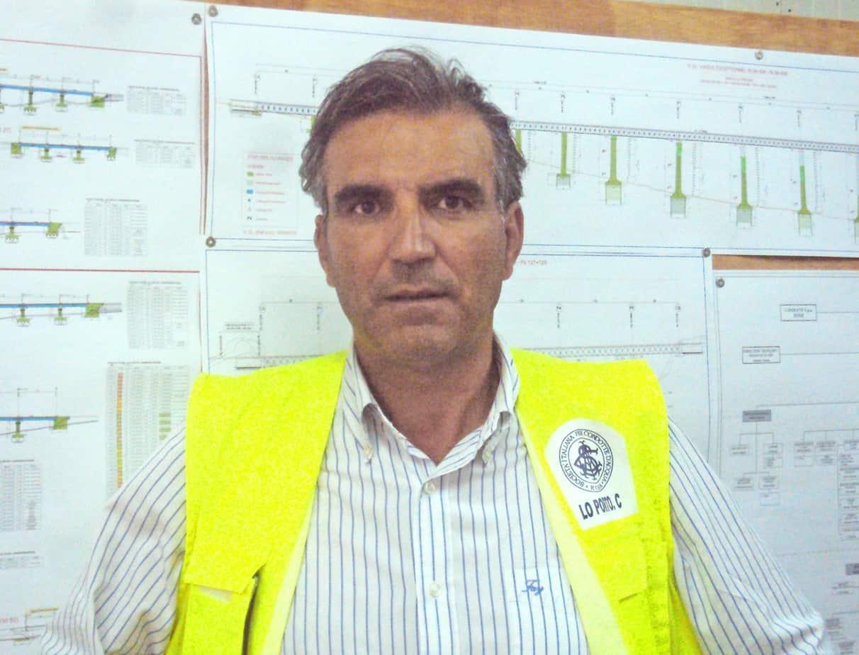 Calogero Lo Porto, Project Manager della Società Italiana per Condotte d'Acqua SpA