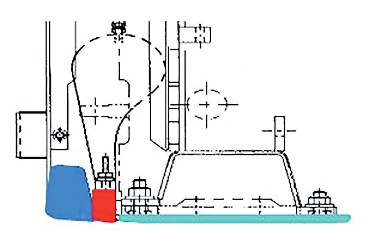 Il banco delle Sumitomo HA60W-8B e HA60C-7 è dotato di serie di Strike-off che permette di migliorare la resa effettuando una precompattazione del materiale e aumentando la vita utile del tamper. Grazie anche allo specifico acciaio resistente a usura e calore si ha una durata media del banco doppia rispetto alla media del mercato